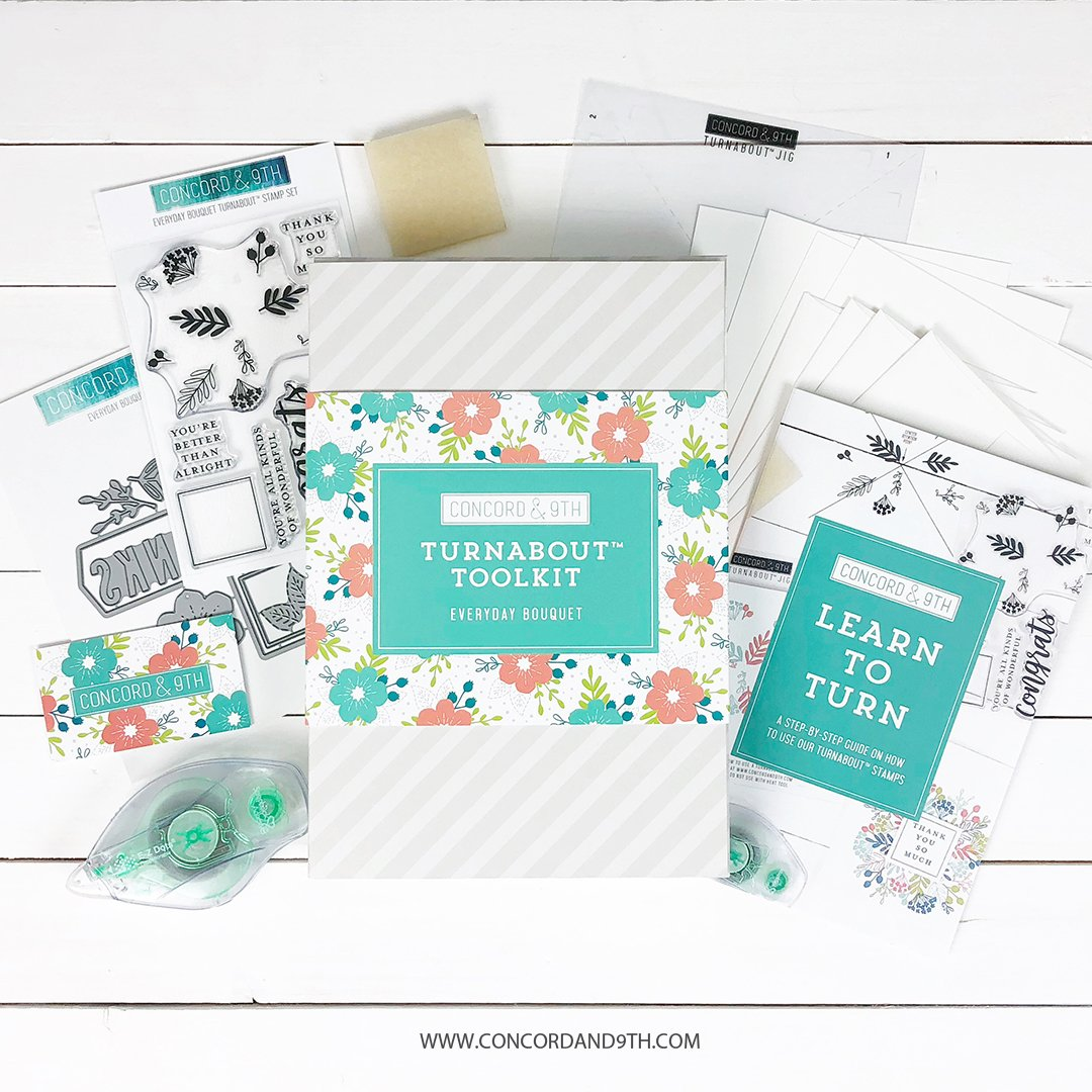 Concord & 9th - Everyday Bouquet Turnabout Toolkit