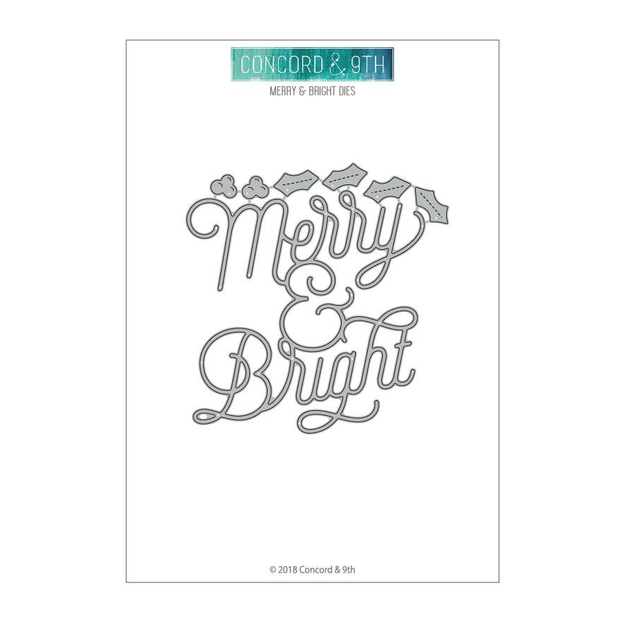*NEW* - Concord & 9th - Merry & Bright Die