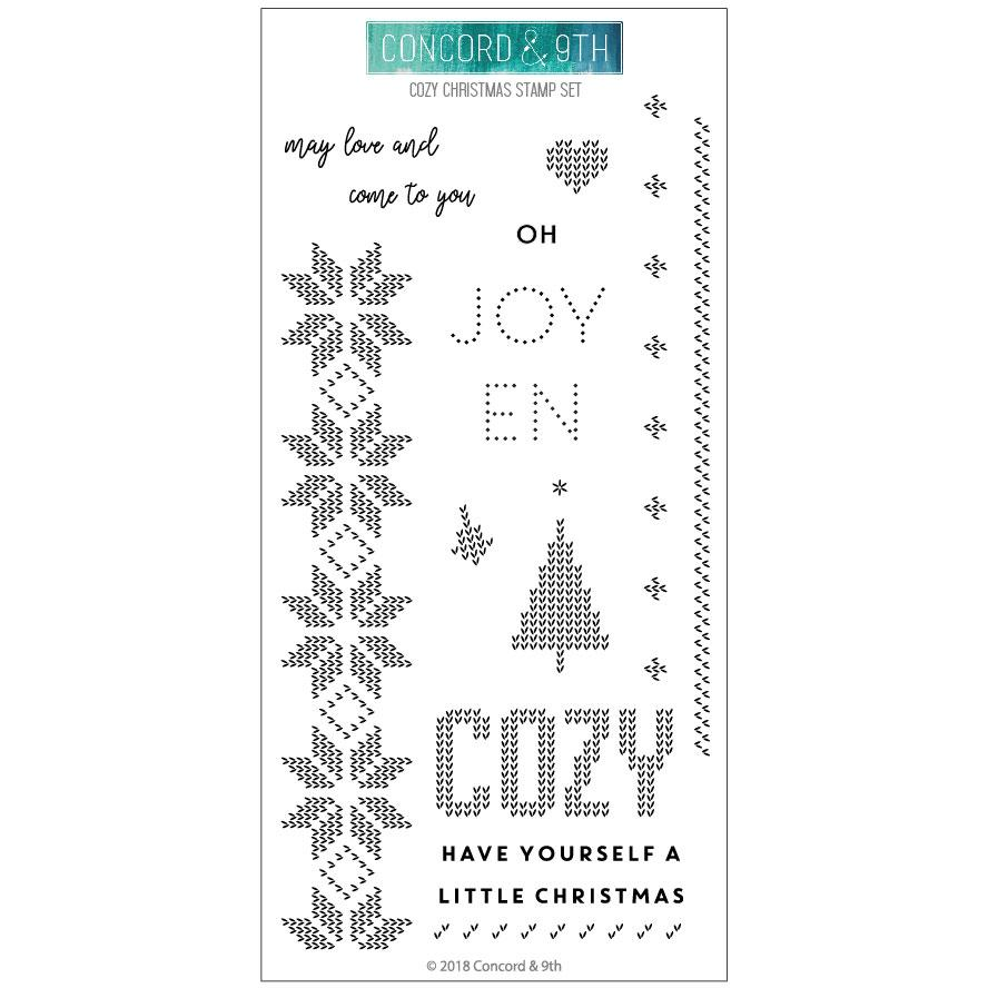 *NEW* - Concord & 9th - Cozy Christmas
