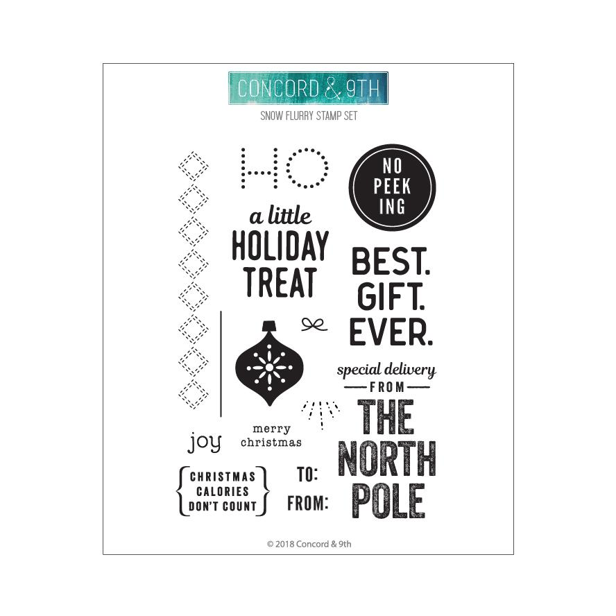 *NEW* - Concord & 9th - Holiday Cheer Tags