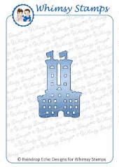 Whimsy Stamps - Castle Die - Shapeology Dies