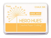 Hero Arts Chalk Ink Pad - Poppy