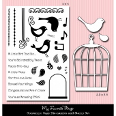*SALE* My Favorite Things - Contempo Cage Stamp PLUS MATCHING DIE