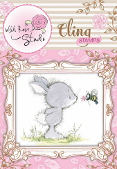 *NEW* Cling Stamp - Bunny and Bee
