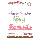 CottageCutz - Bunnies in the Grass Border