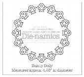 *SALE* My Favorite Things - Die-namics Dainty Doily