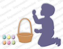 Impression Obsession - Boy with Easter Basket