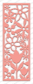 Impression Obsession - Floral Panel Cutout