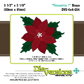 Die-Versions - Shapes - Poinsettia 1