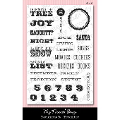 *SALE* My Favorite Things - Document It - December Stamp Set