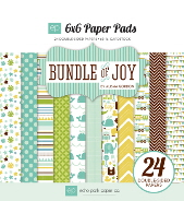 *NEW* Echo Park - Bundle of Joy - Boy 6 x 6 Paper Pad