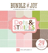 *NEW* Echo Park - Bundle of Joy - Girl Dots and Stripes 6 x 6 Paper Pad