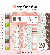 *NEW* Echo Park - Bundle of Joy - Girl 6 x 6 Paper Pad