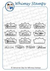 *** Whimsy Stamps - Fairy Tale Dreams - SC Design Collection