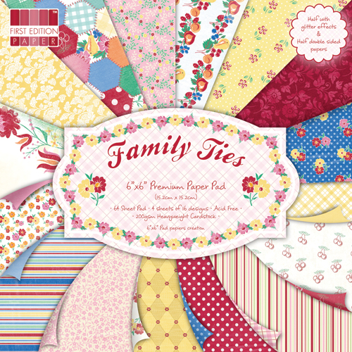 Family Ties 6 x 6 Premium Paper Pack