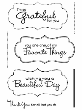 *SALE* My Favorite Things - Die-namics Framed Greetings Die and Stamp Set