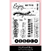 *SALE* My Favorite Things - Gift Card Greeting 2 Stamp Set
