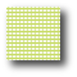 Gingham - Key Lime - 8.5 x 11