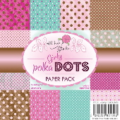 Girly Polka Dots Paper Pack