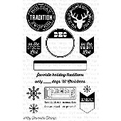 *SALE* My Favorite Things - Document It - Holiday Traditions Stamp Set
