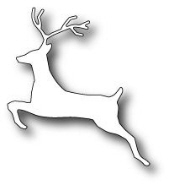 **XMAS* Memory Box - Leaping Deer
