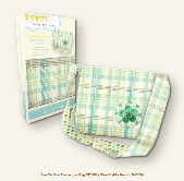 My Mind's Eye See Me Sew DIY Kit - Messenger Bag Blue Plaid