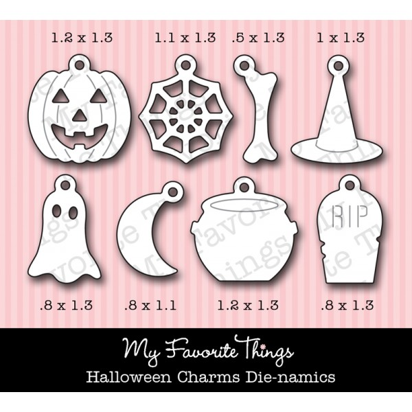 *NEW* Die-namics Halloween Charms
