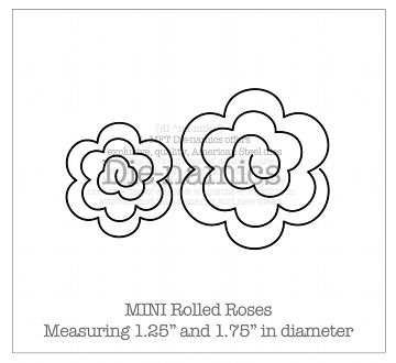 Die-namics MINI Rolled Roses