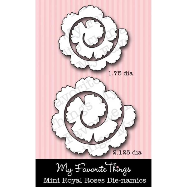 *NEW* Die-namics Mini Royal Roses
