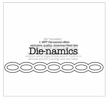 Die-namics Oval Chain Border