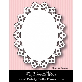 #My Favorite Things -  OVAL Dainty Doily Die-namics