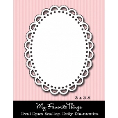 #My Favorite Things -  Oval Open Scallop Doily Die-namics