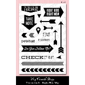 *SALE* My Favorite Things - Document It - Right This Way Stamp Set