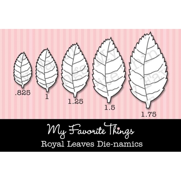 Die-namics Royal Leaves