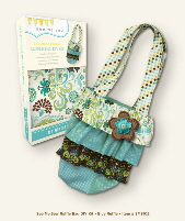 My Mind's Eye See Me Sew DIY Kit - Ruffle Bag Blue