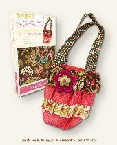 My Mind's Eye See Me Sew DIY Kit - Ruffle Bag Pink