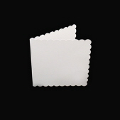 Scalloped Edge Card Pack - Size 6 - 10 Pack