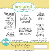 Taylored Expressions - Big Bold Easter Stamp Set