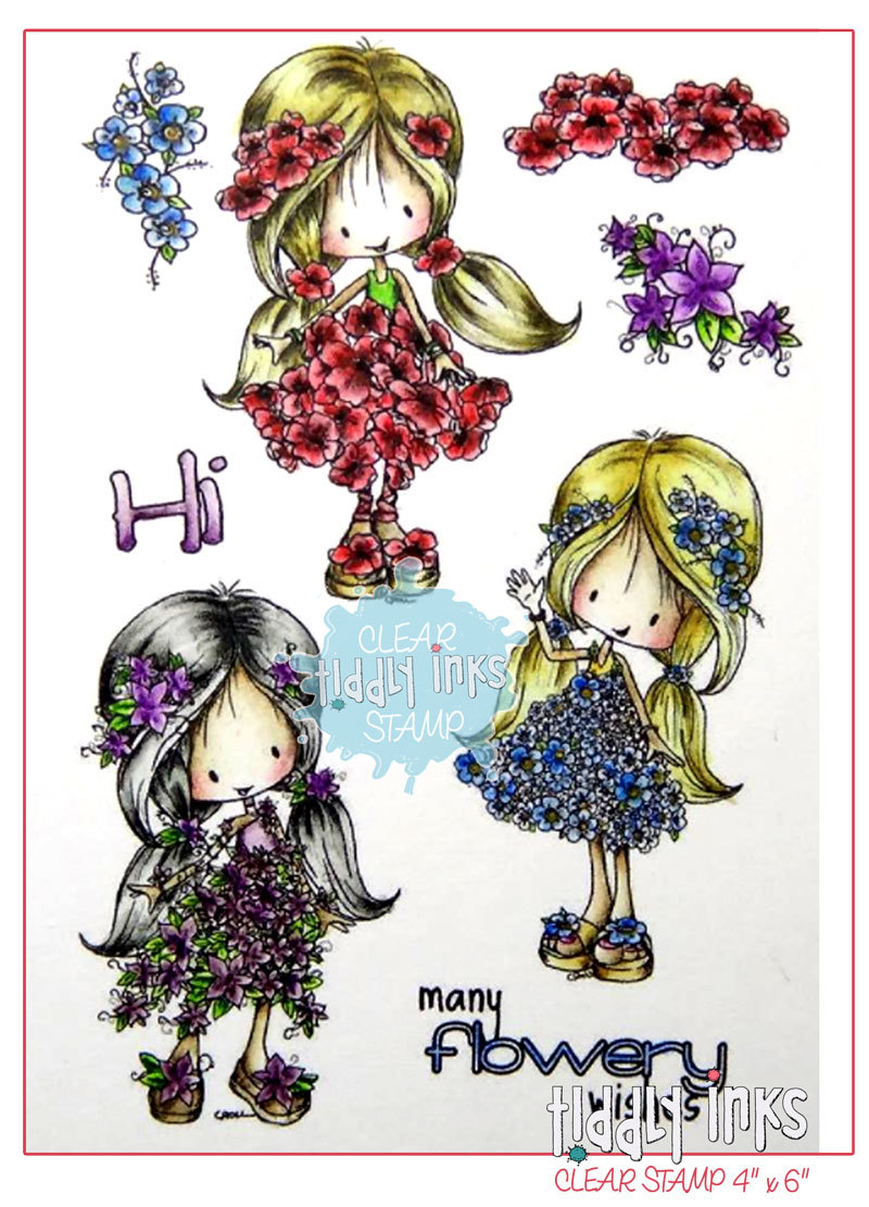 *NEW* - Tiddly Inks - Flower Girls
