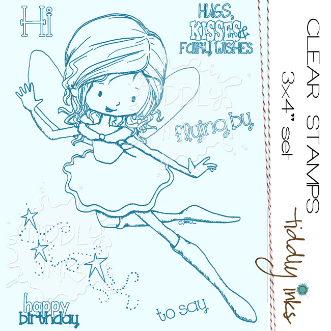 *NEW* Tiddly Inks - Willow Greeting Fairy
