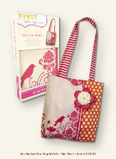 My Mind's Eye See Me Sew DIY Kit - Tote Bag Pink