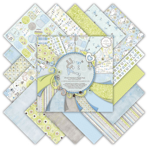 *NEW* Up Up Away 6 x 6 Premium Paper Pack