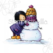 Stamping Bella - Valerie with Snowman