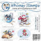 Whimsy Stamps - Winter's Magic Prints - Whimsy Prints