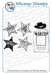 ###Whimsy Stamps - Giddy Up! - Sentiments Collection