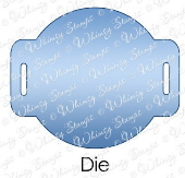 * Whimsy Stamps - Slider 2 Die - Shapeology Dies
