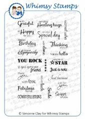 *** Whimsy Stamps - Everyday Moments - SC Design Collection