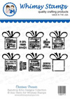 ###Whimsy Stamps - Christmas Presents - Sentiments Collection