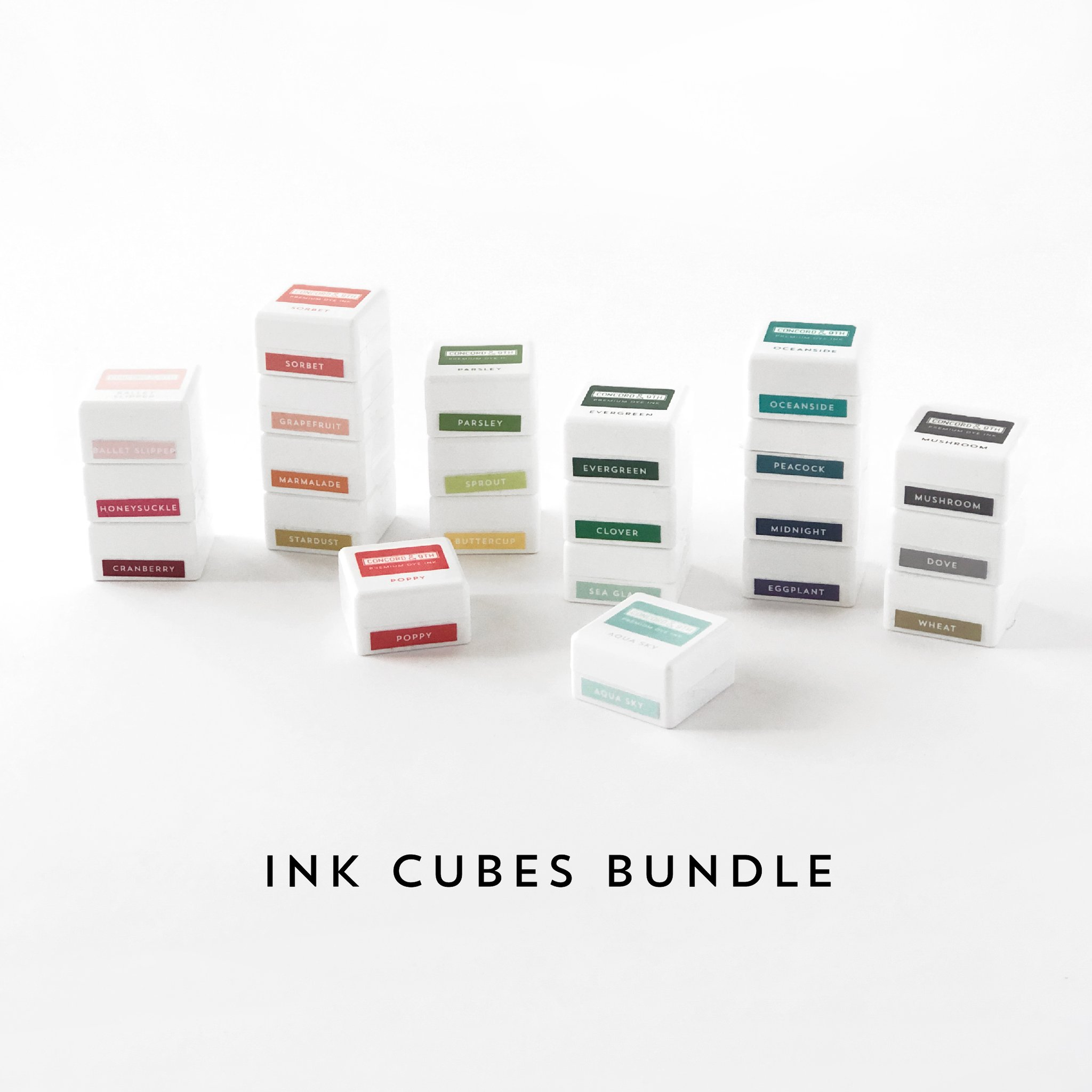 *NEW* - Concord & 9th - INK CUBES BUNDLE