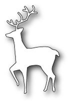 **XMAS* Poppystamps - Curious Deer